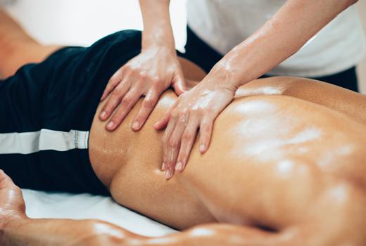 Športová masáž 30 minút