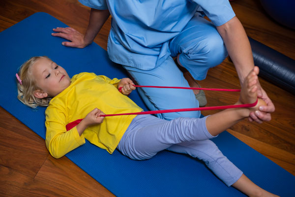 Vyšetrenie detí, juniorov a dospelých  a návrh cielenej gymnastiky